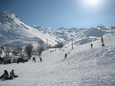 Dizin Ski Resort Iran