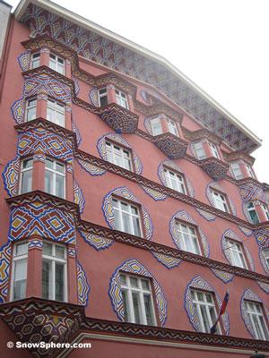 art deco building ljubljana slovenia