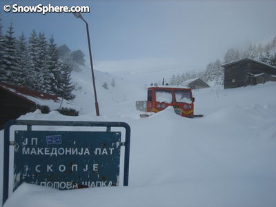 cat skiing macedonia