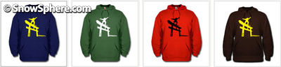 Snowboard Japan hoodies