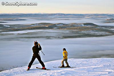 View from Björnrike