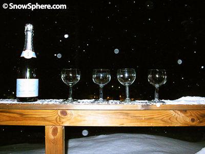 Champagne at Björnrike