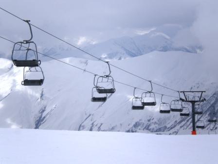 snowboarding guduari georgia