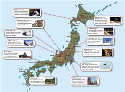 snow search japan ski guide map